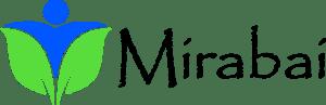 mirabai_logo_green_blue_papyrus_text